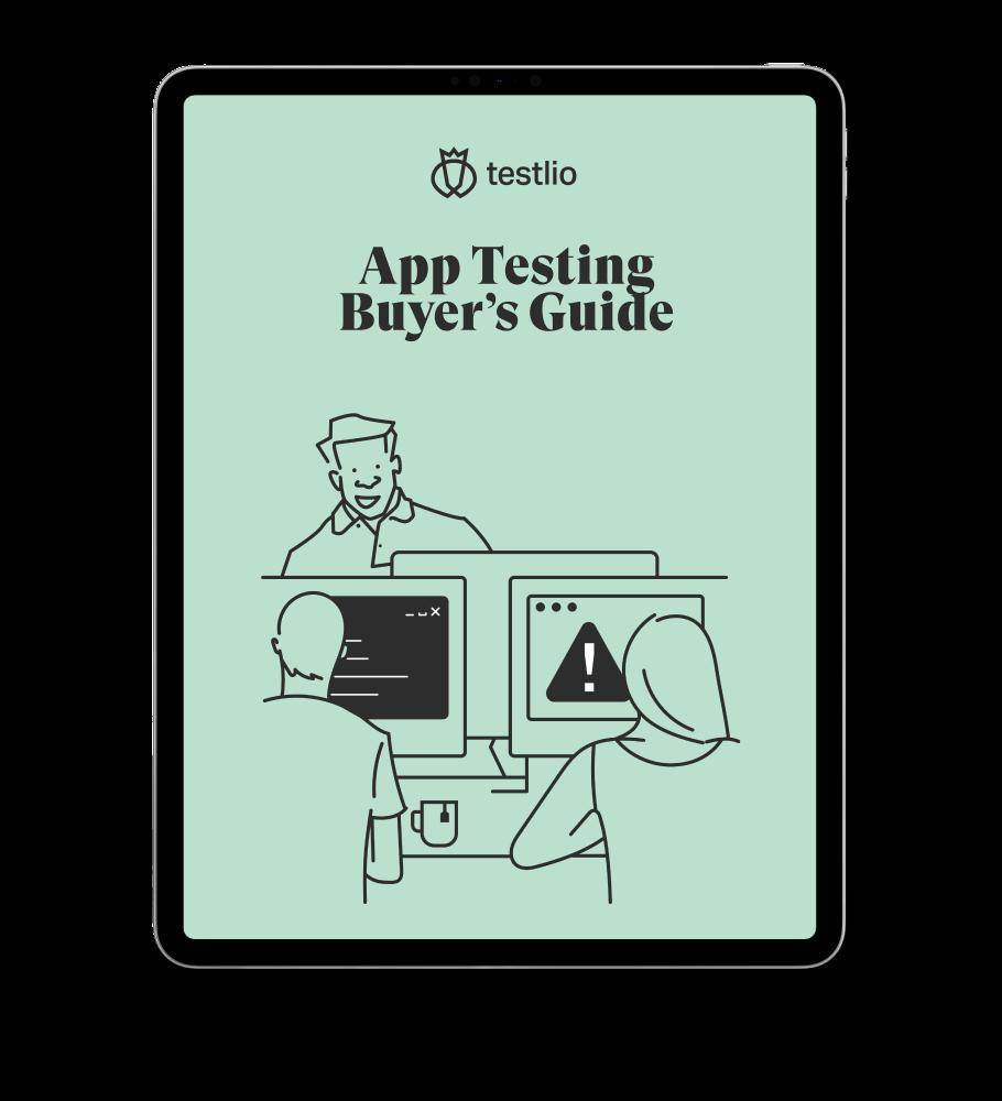 App Testing Buyers Guide Homepage Image